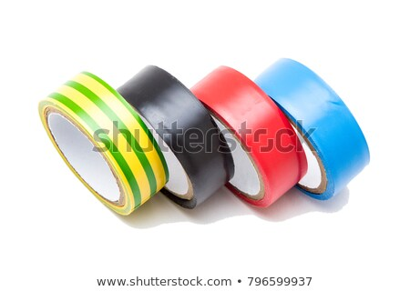 Silver electrical tape Stock photo © wavebreak_media