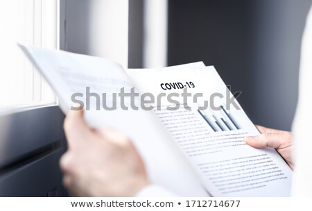 Medical reading report Stock photo © photography33