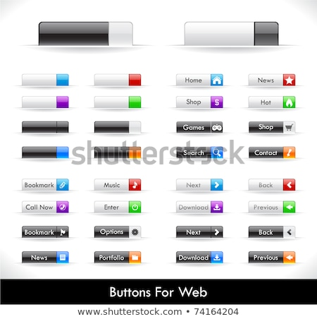 Web buttons and tabs Stock photo © carbouval