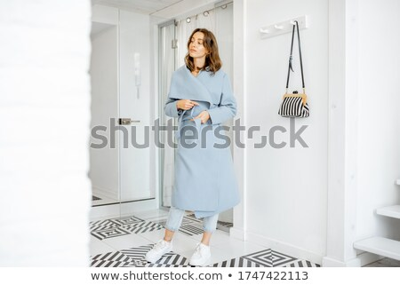 Young Woman Hallway Stock photo © hlehnerer
