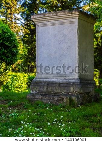 Boş mezar Stok fotoğraf © SecretSilent