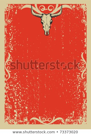 Vector cowboy papaer stock photo © GeraKTV