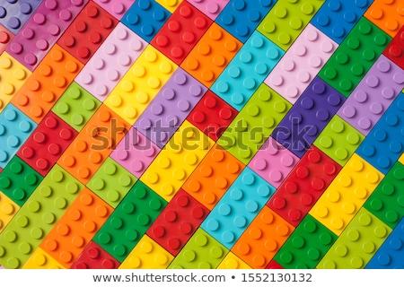 Különböző alkotóelem 3D kockák magas döntés Stock fotó © silense