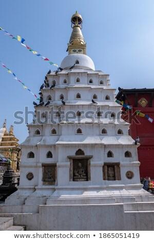 Small stupa Stock photo © Hofmeester