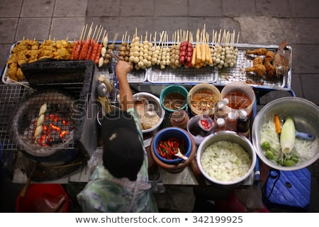 food stall in bangkok thailand Stock photo © travelphotography