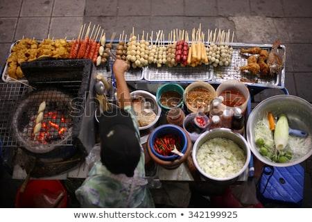 thai · comida · de · rua · Bangkok · Tailândia · cozinha · comida - foto stock © travelphotography