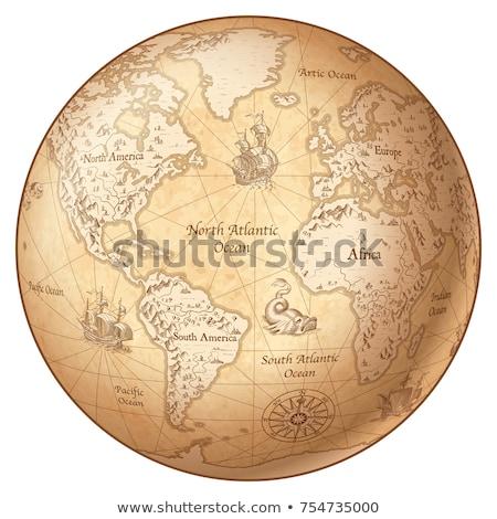 Globe Vintage Stock photo © idesign