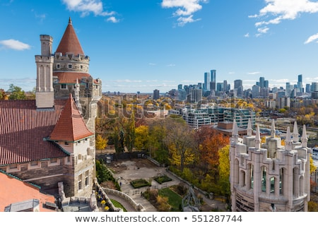 Casa Loma Tower Toronto Stock photo © vichie81