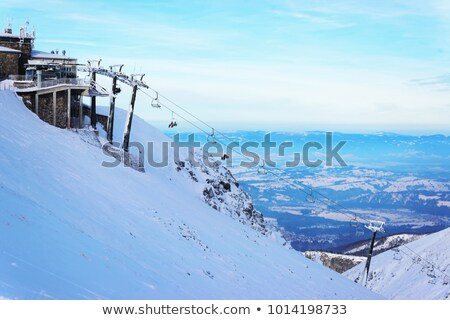 View from Kasprowy wierch in Tatras Stock photo © nature78
