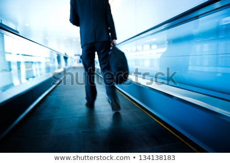 escalator travel journey concept stock photo © zkruger