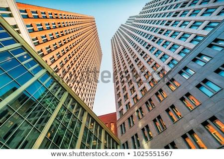 Stok fotoğraf: Hollanda · hükümet · Bina · giriş · mimari · pencereler