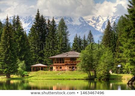 Trentino - lago dei Caprioli Stock photo © Antonio-S