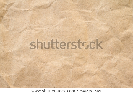 crumpled brown paper Stock photo © caimacanul