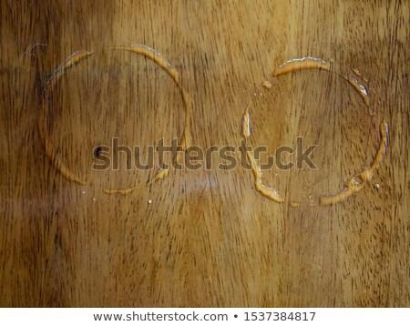 umido · legno · deck · pioggia - foto d'archivio © madelaide