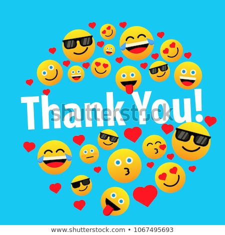 thank you violet vector icon design stock photo © rizwanali3d
