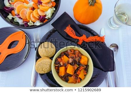 ベジタリアン · 唐辛子 · トウモロコシ · 乳房 · 健康 · 準備 - ストックフォト © rojoimages