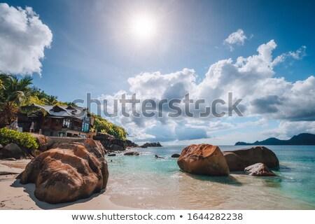 cliffs over the nuns beach Stock photo © morrbyte