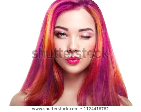 shampoo · glimlach · dag · salon · model · portret - stockfoto © adrenalina