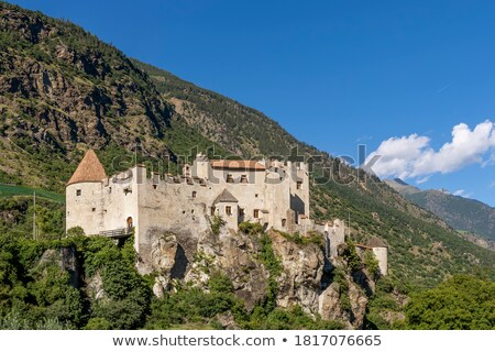 Kastelbell castle in South Tyrol Stock photo © LianeM