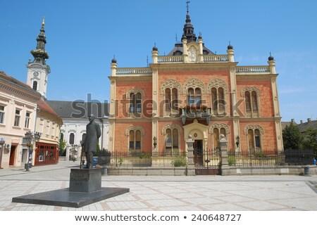 vladicin court palace of bishop in novi sad serbia stock photo © vladacanon