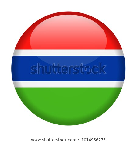 gambia flag button stock photo © ojal