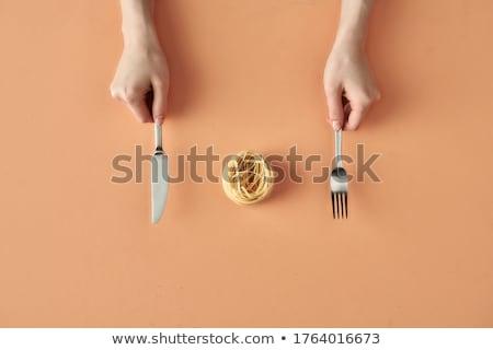 um · delicioso · caseiro · bolo · café · da · manhã - foto stock © jarp17