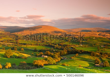 Sedbergh is a small town and civil parish in Cumbria, England.  Stock photo © CaptureLight