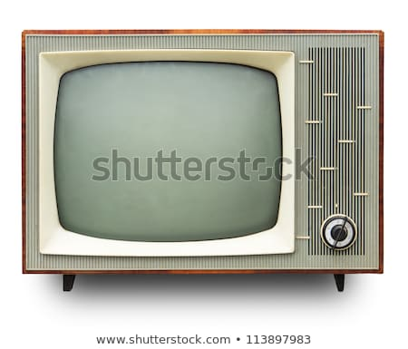 Vintage tv set Stock photo © njnightsky