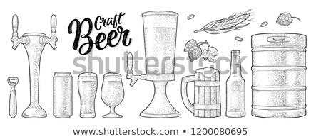 Planta cervejaria imagem tecnologia indústria Foto stock © wavebreak_media