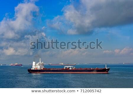 Cingapura expedição industrial navios porto dia Foto stock © joyr