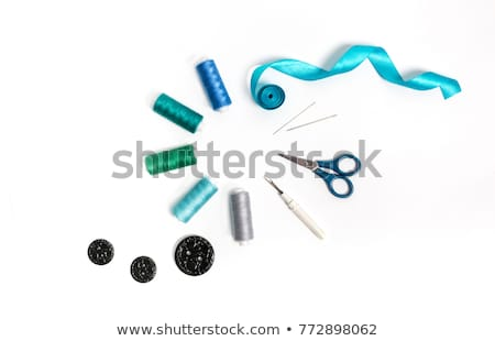 blue threads with buttons  Stock photo © OleksandrO