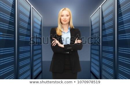 negócio · administrador · fora · escritório · situação · secretária - foto stock © dolgachov
