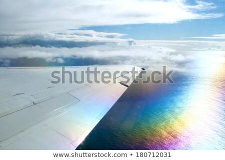 虹 · 自然 · 現象 · 写真 · 空 · 雨 - ストックフォト © nito