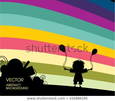 красочный бизнеса украшение аннотация дизайна Сток-фото © blaskorizov