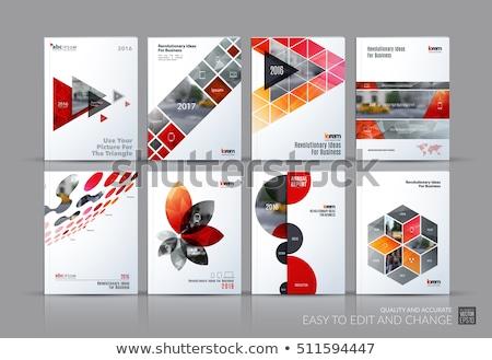 Circle future design, digital concept banner, vector Stock photo © Andrei_