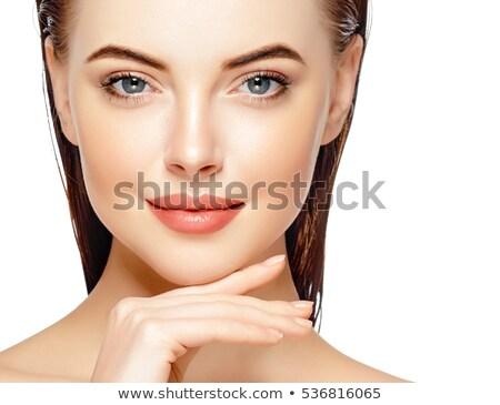 Zdjęcia stock: Women Lips Beauty