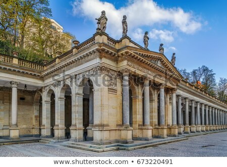 ストックフォト: Mill Colonnade In Karlovy Vary
