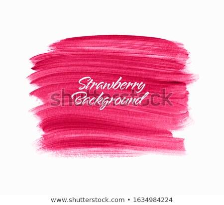 Rúzs grafikai tervezés sablon vektor izolált illusztráció Stock fotó © haris99