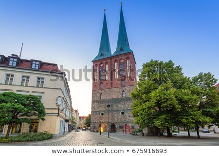 St. Nicholas Church, Berlin Stock photo © borisb17