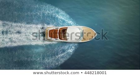 Pássaro barcos tráfego barco Foto stock © jsnover