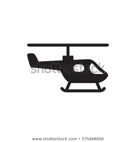 Helicopter Icon Stock photo © angelp