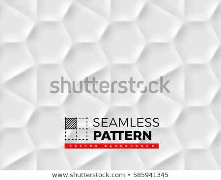 Seamless pattern with hexagonal cells made from shadows and ligh stock photo © SwillSkill