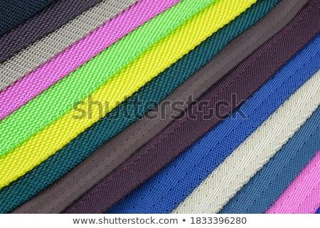 Pánt fekete műanyag textil Stock fotó © FOKA