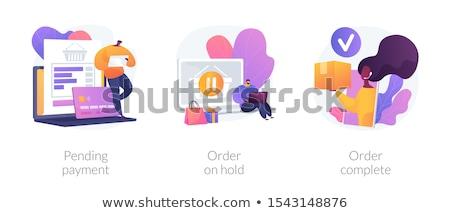 Order processing vector concept metaphors Stock photo © RAStudio