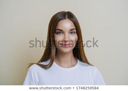 женский женщину восхищение привязанность Сток-фото © vkstudio