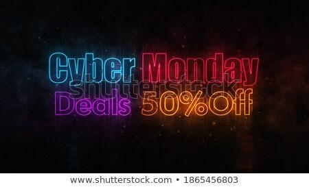 Renk anlaşma yansıma 3D renk Stok fotoğraf © marinini