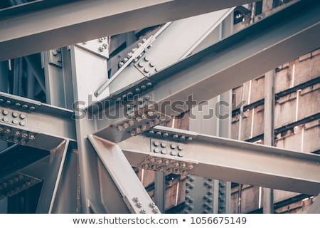 Bridge Detail With Iron And Bolts Stock photo © searagen