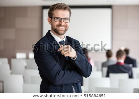 деловой женщины Председатель улыбаясь молодые красивой Сток-фото © Rebirth3d