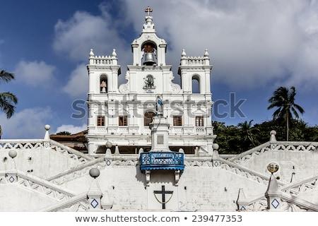 Chiesa goa India città Asia religione Foto d'archivio © travelphotography
