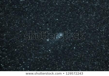 kuyrukluyıldız · gökyüzü · güneş · ışık · mavi · kırmızı - stok fotoğraf © rwittich